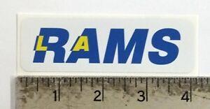 Vintage NFL LA Rams football logo sticker decal