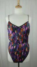 Teddie Romper Floral Intimate Sleepwear Sz L