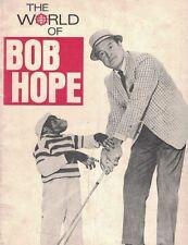 The World of Bob Hope NBC Texaco Magazine Bio Booklet Photos JFK Vintage