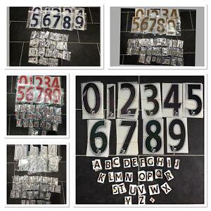 Sporting id Premier League Shirt Letters numbers Nameset chelsea man city 07-17