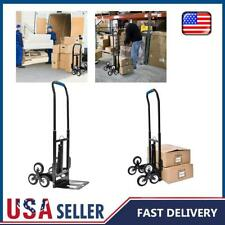 Heavy Duty Stair Climbing Climber Hand Truck Dolly Cart Trolley w/ Elastic Rope