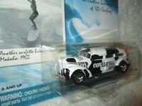 cadillac hearse w/ surfboards surf rods COWABUNGA Boys 1/64 Johnny LIGHTNING