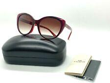 NEW Coach  Sunglasses HC8260F (L1072)553213 BERRY LAMINATE 55-18-140MM