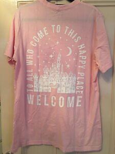 Walt Disney Quote T Shirt Ladies Large Disneyland WDW Womens Top Club 55