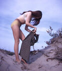 Vintage+Stereo+Realist+Photo+3D+Stereoscopic+Slide+PINUP+Removes+Dress+on+Sand