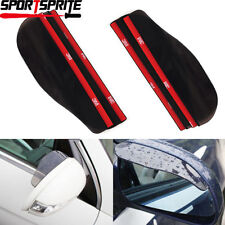 2x Universal Car Rear View Side Mirror Rain Board Sun Visor Shade Shield