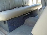 1999-2006 Silverado/Sierra Extended Cab Dual 10 Downfire With Amp Space