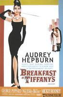 AUDREY HEPBURN FILMPOSTER BREAKFAST AT TIFFANY'S ONE SHEET # 2 KINOPLAKAT FILMPL