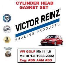 VICTOR REINZ Set guarnizione testata per VW GOLF II 1.6 III 1.8 1983-2002 ABN
