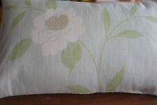Laura Ashley Thea Eau de Nil  fabric Bolster Cover 17in x 11in Oblong new