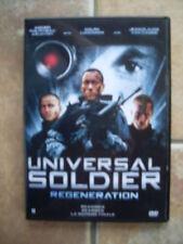 dvd UNIVERSAL SOLDIER Regeneration; un des  meilleurs de la série!! ( si si)