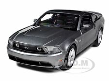 2011 FORD MUSTANG GT HARD TOP GREY 1/24 DIECAST CAR MODEL BY MAISTO 31209
