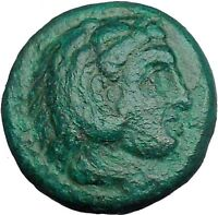 Alexander III the Great 336BC Ancient Greek Coin Hercules Bow Club  i33513