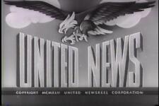 UNITED NEWS 1943 NEWSREELS VOLUME 4 VINTAGE RARE DVD