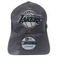 New Era LOS ANGELES LAKERS 9Forty 940 Meshback Strapback Hat Cap NBA