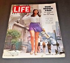 August 22, 1969 LIFE Magazine Historical 60s Advertising ads FREE SHIPPING Aug 8