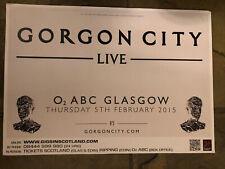 More details for gorgon city - uk concert / gig poster, glasgow, february 2015