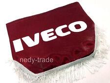 IVECO Window Shield Pelmet Curtains Windscreen Truck Lorry Logo Emblem Red
