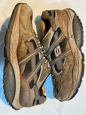 Skechers Shape Up Scarpe da ginnastica RAGGIO Taglia 9 in luce color kaki con rullo ponte