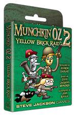 Munchkin Oz 2 Yellow Brick Raid Expansion Card Game Steve Jackson Games SJG4431