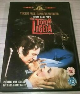 Tomb Of Ligeia DVD 1964 Vincent Price Elizabeth Shepherd Edgar Allam Poe Movie