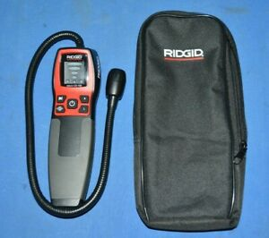 RIDGID Tool Company Micro CD-100 Combustible Gas Detector With Black Case