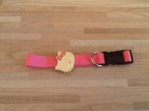 HELLO KITTY  -  pink  -  collar