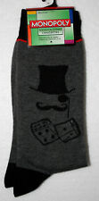 Mr Monopoly Mustache Top Hat Dice Hasbro New Pair Socks French? Fits 6-12