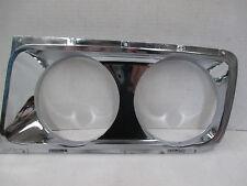 Mopar NOS 1965 Chrysler New Yorker 300 Left Door Headlight Cover Bezel 2445421