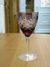 Bohème amethyst Coupe à vin clair/Sherry/Port verre GRATUIT UK ENVOI