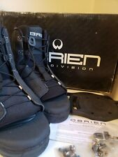 New listing New - Obrien Wakeboard Division Link Bindings Black Men's Size 8-10
