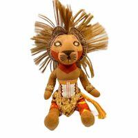 Disney Lion King Simba Broadway Musical Plush 11in Bean Bag Toy LK-SBB-107