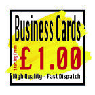 Business Cards Personalised Printed Business Cards