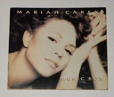 Mariah Carey Music Box Taiwan Ltd Promo Notebook Booklet RARE Not CD