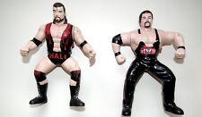 WCW OSTM Lot x 4 Vibrating Wrestling figures Sting Hall Nash Luger WWF WWE LJN