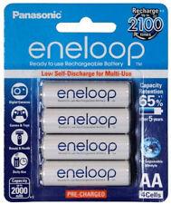 Panasonic eneloop rechargeable 2000mAh AA battery 4 pack 4th Gen BK-3MCCE