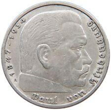 GERMANY 5 MARK 1936 A #s59 115