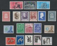 Norway - 1969/71, 19 x Issues - MNH