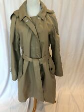 Burberry London Womens Kibworth Heritage Trench Jacket Coat NWT US 8 Stone $895