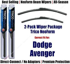 2pk Super-Premium NeoForm Wipers fit 1995-2014 Dodge Avenger - 16240/220