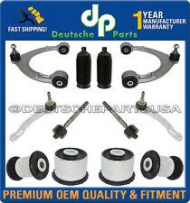 Porsche Panamera Fr Upper Lower Control Arm Ball Joint Tie Rod Suspension Kit 12