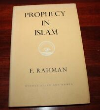 Prophecy In Islam by Fazlur Rahman- Hardcover (1958)