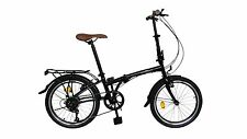 "ecosmo 20 "" tout neuf pliable City vélo bicyclette 6SP - 20f01bl"