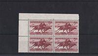 APD606) Australia 1961 5/- Stockman Cream Paper. Very fresh MUH top left corner
