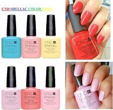 CND SHELLAC UV Nail Polish Gel Top Colour Coat 14+ days long lasts 7.3ml