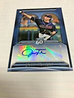 JOSH TOMLIN 2011 TOPPS UPDATE SERIES 2 TOPPS 60 AUTOGRAPH AUTO Brewers INDIANS