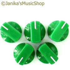 Perillas Potenciómetro Interruptor Verde 5 Amplificador De Guitarra etc. Estufa Olla Tornillo de perilla +