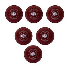 Coaching Light Soft Cricket Ball Eva In Pack Of 6 Red For Outdoor Game Training