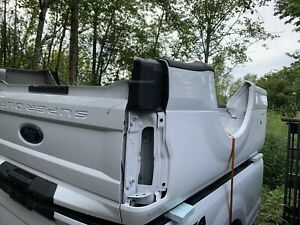 2017- 2020 Ford OEM F250 F350 Aluminum 8FT LONG BED New Takeoff Tailgate Bumper