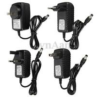 DC/AC 12V 1A 2A Power Supply Charger Adapter for LED Light Strip Camera CCTV NEW